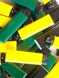 Quelques briquets Image stock