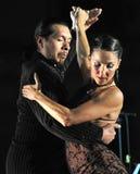 Quelques danseurs de tango photographie stock libre de droits