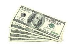 Quelques dollars Image libre de droits