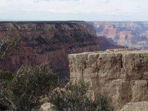 Quelques falaises sont étroites Photos libres de droits