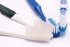 Quelques nouvelles brosses à dents Photographie stock libre de droits