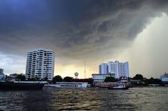Quelques orages, Bangkok Photographie stock