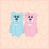 Quelques ours Image libre de droits