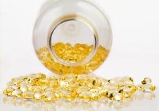 Quelques vitamines Photos stock