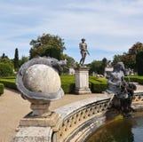 Queluz宫殿是被找出的葡萄牙18世纪宫殿 库存图片