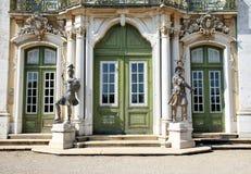 queluz дворца церемониального фасада национальное Стоковые Фотографии RF