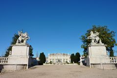 Queluz palace Royalty Free Stock Photos