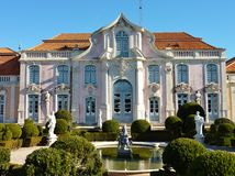 The Queluz palace Stock Images