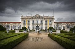 Queluz Palace Royalty Free Stock Images