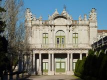 Queluz palace in Portugal Royalty Free Stock Photos