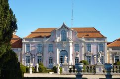 Queluz palace in Portugal Royalty Free Stock Image