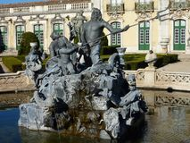 Queluz palace in Portugal Stock Images