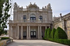 The National Palace of Queluz, Portugal Royalty Free Stock Photography