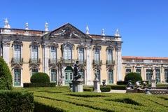 Queluz slott Arkivfoto