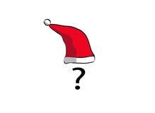 Quem é Papai Noel Fotografia de Stock Royalty Free