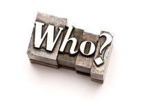 Quem?