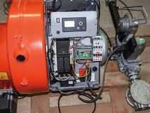 Quemador de gas Imagenes de archivo