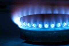 Quemadores de gas Fotos de archivo libres de regalías