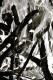 quemadura imagen de archivo