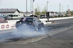 Quemadura de Chevrolet Monte Carlo Imagenes de archivo