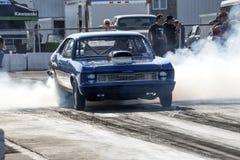 Quemadura de la Nova de Chevrolet Foto de archivo