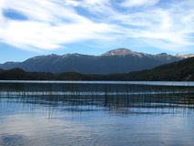 queni patagonia озера Стоковое Фото