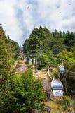Quenstownhorizon, Nieuw Zeeland Stock Foto