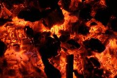 Quente ardente imagens de stock