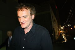 Quentin Tarantino. Quentin is outside the Jimmy Kimmel Studios Stock Image