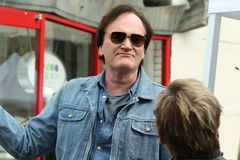 Quentin Tarantino 免版税图库摄影