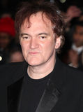 Quentin Tarantino. Arriving for the Django Premiere, at Empire Leicester Square, London. 10/01/2013 Picture by: Alexandra Glen / Featureflash Royalty Free Stock Images