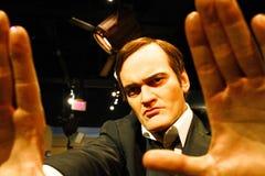 Quentin Tarantino w Madame Tussauds Hollywood Obrazy Stock