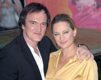 Quentin Tarantino, Zoe Bell Stock Photos