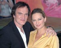 Quentin Tarantino, Zoe Bell Stock Photos