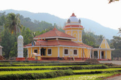 Quepem Temple in Parroda Goa india Royalty Free Stock Photography