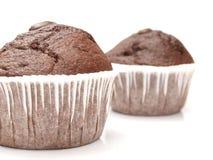 Queque - chocolate Imagens de Stock Royalty Free