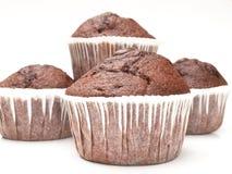 Queque - chocolate Fotos de Stock