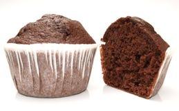 Queque - chocolate Imagem de Stock Royalty Free