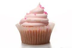Queque cor-de-rosa da limonada fotografia de stock