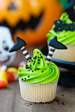Queque de Halloween Imagens de Stock Royalty Free