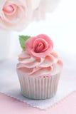 Queque de Rosa Fotos de Stock Royalty Free
