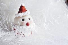 Queque de Santa Claus Imagem de Stock
