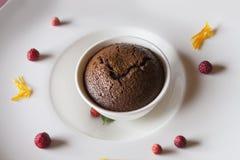Queque do chocolate Imagens de Stock Royalty Free
