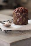 Queque do chocolate Foto de Stock Royalty Free