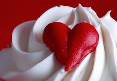 Queque dos Valentim Imagens de Stock