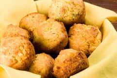 Queques da farinha de milho Imagem de Stock Royalty Free