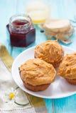 Queques da manteiga de amendoim Foto de Stock Royalty Free