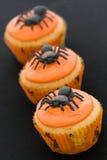 Queques de Halloween Imagens de Stock Royalty Free
