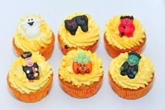 Queques de Halloween Imagem de Stock