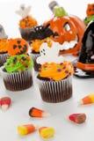 Queques de Halloween Imagens de Stock